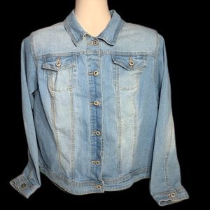 CATO  BLUE JEAN JACKET WOMEN 18/20